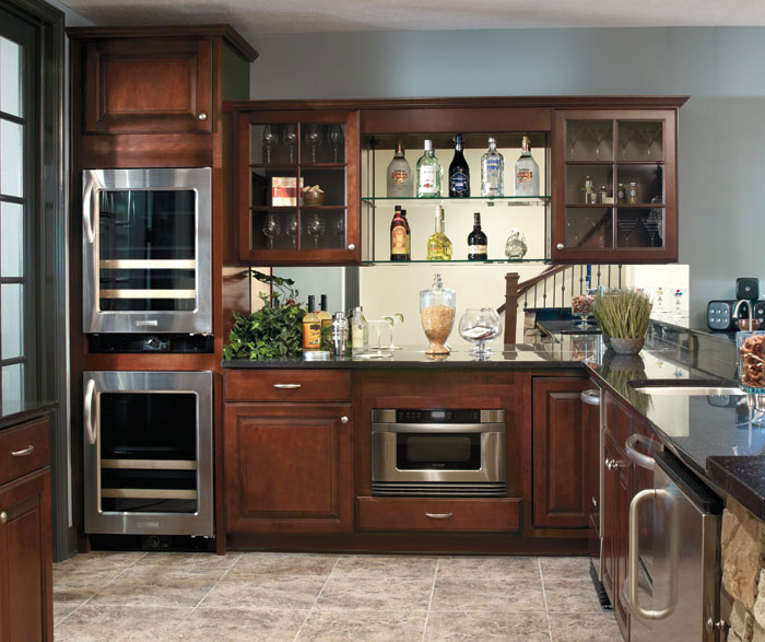 Java Kitchen Cabinet